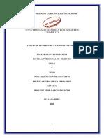 Fundamentacion de Conceptos Taller Investigacion i