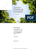 El Futuro Climatico de La Amazonia