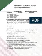 PREGUNTAS DE INFORMACIÓN