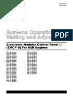 Electronic Modular Control Panel II - Para Motores MUI