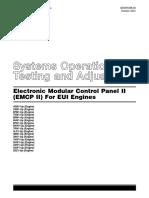 Electronic Modular Control Panel II - Para Motores EUI