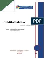 Crédito Público Trabalho FINAL