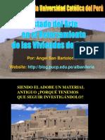 Adobe Reforzado-Estado del Arte_Ing San bartolomé.pps