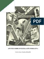 Apuntes Sobre Investigacion Formativa