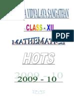 KVS Hots 2009-10