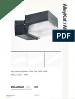 Sylvania AlleyKat Low Wattage HID Spec Sheet 1-87