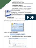 Peopleware » Como fazer formulários digitais no Word 2007 » Print