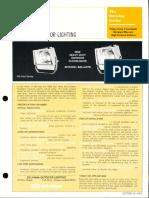 Sylvania Batwing Series Floodlight Spec Sheet 7-77