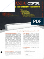 Sylvania CFR Controlled Fluorescent Reflector Spec Sheet 5-65