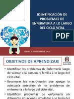 Clase N° 5 Identificación de Probemas de Enfermería a lo largo del ciclo vital  2018 (1).pptx