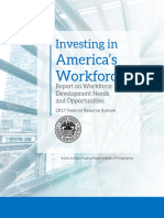 Report on Workforce Needs and Opportunities