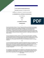 Ley622Ley de Contrataciones Municipales