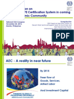 P1d a Common Personal Protective Equipment Certification System for the ASEAN Economic Community