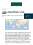 Porphyry Copper Deposits of the World_ Database, Map, And Grade and Tonnage Models