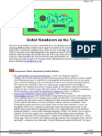 Types of Robotic Simulators
