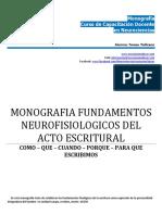 Monografia Neurociencias Teresa Pellicano