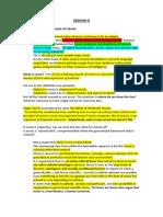 Slides Notes Exam 2