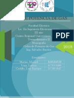 Ciclo de -Potencia de Gas