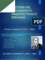 Historia Del Pensamiento Arquitectónico Peruano