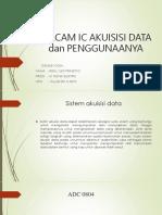 Macam Ic Akuisisi Data Dan Penggunaanya