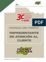 RAC PLANET (Cajero y Atencion Al Cliente)