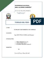 Tuneles Del Peru