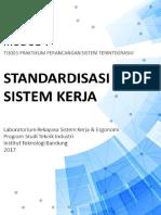 Modul 4 - Standardisasi Sistem Kerja