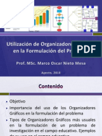 Utilización de Organizadores Gráficos en la Formulación del problema de Investigación
