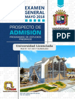 Prospecto General Mayo 2018