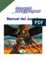 Advanced Dungeons & Dragons - Segunda Edición - Castellano - Manual de Jugador.pdf