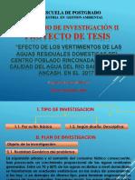 Proy. Tesis.calidad Del Agua. Uns. 2017