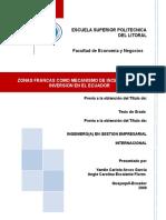 TESIS ZONAS FRANCAS COMO MECANISMO DE INCENTIVO PARA LA INVERSION EN EL ECUADOR.doc