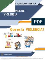 Rutas Violencia Abril