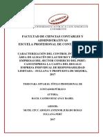 Control Interno Empresas Comerciales Castro Ruiz Anay Isabel