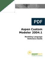 ACM Modeling Language Reference