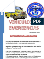 Vehiculos de Emergencias Psf
