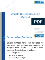 Straight Line Depreciation Method_2