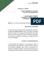 Delitos de Comisión por omisión (Casacion Colombia)