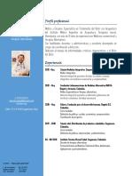 Curriculum vitae Dr. Leandro Daza