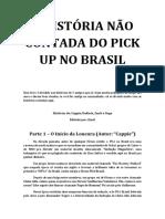 A História Não Contada Do Pick Up No Brasil