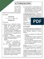 factorizacion.