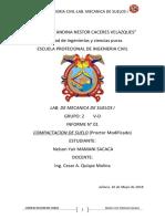 informe de labarotorio de proctor modificado