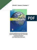 Evergreen Agriculture Garrity Et Al Food Security