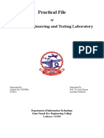 Software Engineering and Testing Laboratory