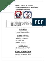 Neumonia Neonatal y PAE