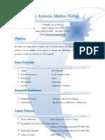 Curriculum Kelvyn Antonio Muñoz Núñez (Original)