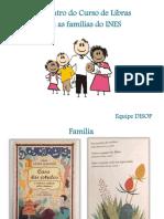 Slides - Família e Libras