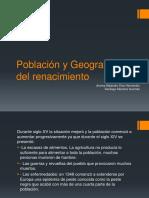 Población y Geografía