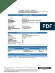 Certificado de Envio - Solicita Liquidación de Deuda
