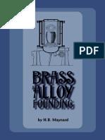 Brass Alloy Founding by H.B.maynard